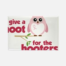 Give A Hoot Rectangle Magnet