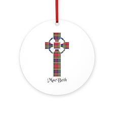 Cross - MacBeth Ornament (Round)