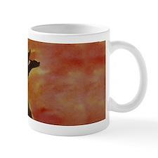 Sunset Dragon Mug