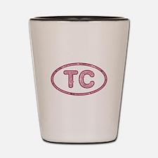 TC Pink Shot Glass