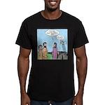 Firing Line Men's Fitted T-Shirt (dark)