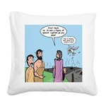 Firing Line Square Canvas Pillow