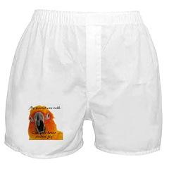 Sun Conure 2 Steve Duncan Boxer Shorts