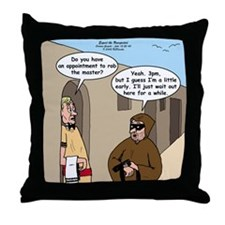 A Time to Steal Throw Pillow