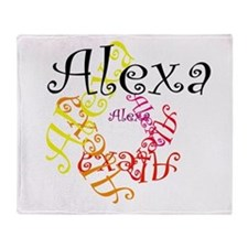 Alexa Throw Blanket