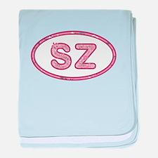 SZ Pink baby blanket