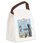 Here Today ... Canvas Lunch Bag