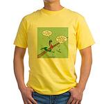 No Respect Yellow T-Shirt