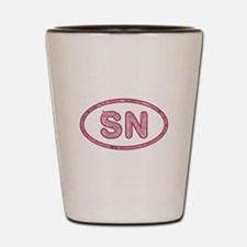 SN Pink Shot Glass