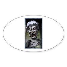 My Grandma's a Zombie Bumper Stickers