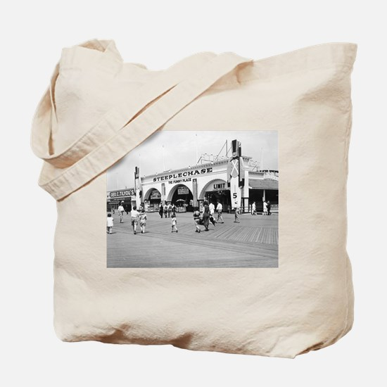 Steeplechase on Coney Island 1826580 Tote Bag