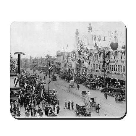 Coney Island Strets 1826595 Mousepad