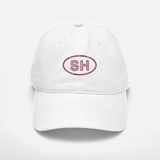 SH Pink Baseball Baseball Cap