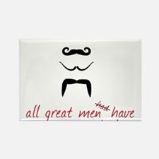 All Great Men Rectangle Magnet
