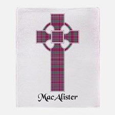 Cross - MacAlister Throw Blanket