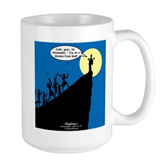 Mission from God Large Mug
