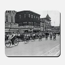 Coney Island Bicyclist 1826632 Mousepad