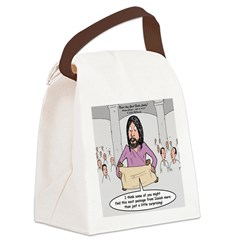 Mission Statement Canvas Lunch Bag