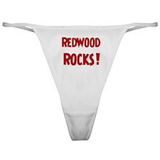 Redwood Rocks Classic Thong