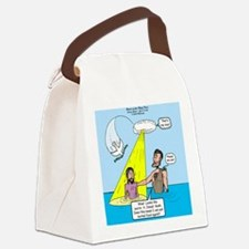 Baptize This Canvas Lunch Bag
