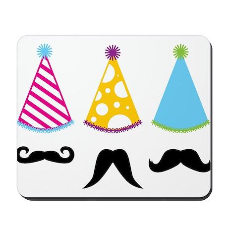 Party Mustache Mousepad