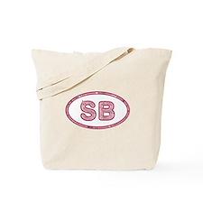 SB Pink Tote Bag