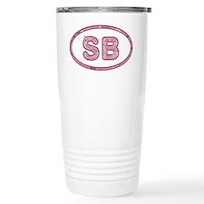 SB Pink Travel Mug