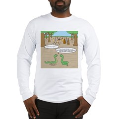 Snake Sour Grapes Long Sleeve T-Shirt