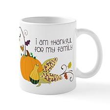 I Am Thankful Mug