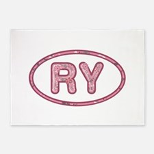 RY Pink 5'x7'Area Rug