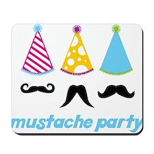 Mustache Party Mousepad