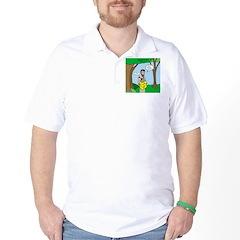 John the Baptist Diet Golf Shirt