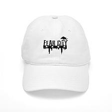 Fear City BLACK Logo Baseball Cap