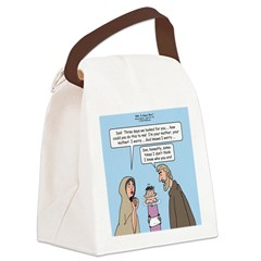 Left Behind Canvas Lunch Bag
