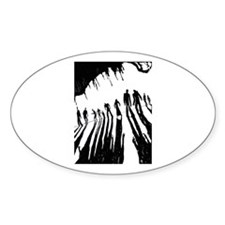 Zombie Sunset Decal