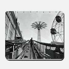 Coney Island Roller Coaster 1826597 Mousepad