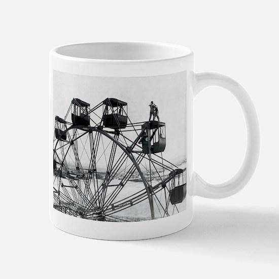 Men On Ferris Wheel 1756229 Mug