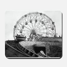Coney Island Amusement Rides 1826612 Mousepad