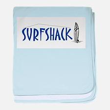 Surf Shop baby blanket