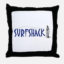 Surf Shop Throw Pillow