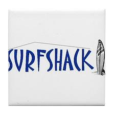 Surf Shop Tile Coaster