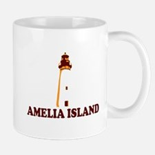 Amelia Island - Lighthouse Design. Mug