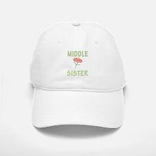 Middle Sister Peach Flower Baseball Baseball Cap