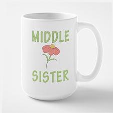 Middle Sister Peach Flower Mug