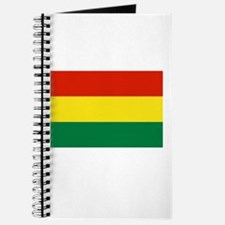 Bolivia Flag Picture Journal
