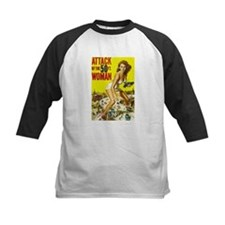 Vintage Attack Woman Comic Tee