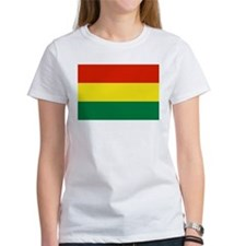 Bolivia Flag Picture Tee