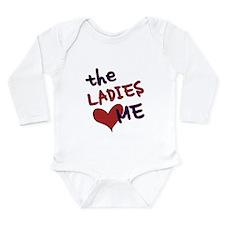 The ladies love me Long Sleeve Infant Bodysuit