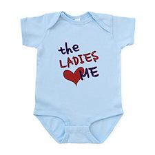 The ladies love me Infant Bodysuit