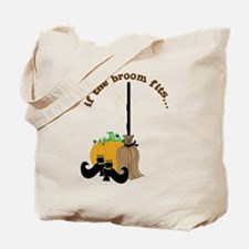The Broom Fits Tote Bag